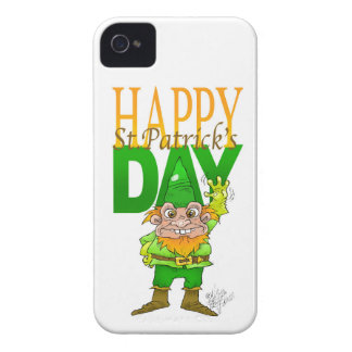 Lenny the Leprechaun illustration, on a Iphone4 iPhone 4 Case