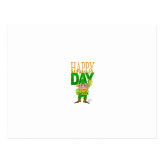 Lenny the Leprechaun.jpg Postcard