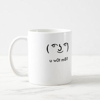 "Lenny ""u w0t m8"" Mug"