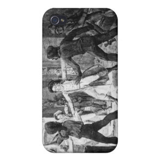 Lenoir opposing the destruction of royal tombs iPhone 4 cover