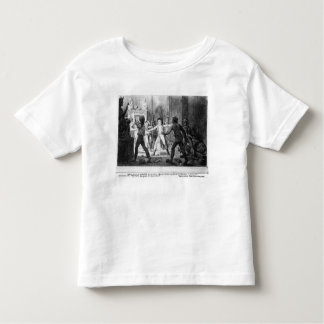 Lenoir opposing the destruction of royal tombs toddler t-shirt