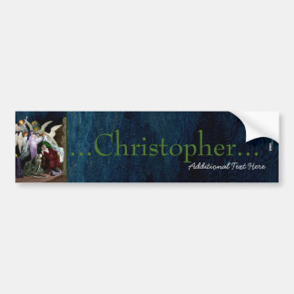 Lenore among the Angels. Car Bumper Sticker