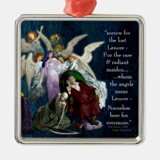 Lenore among the Angels. Metal Ornament