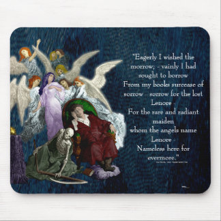 Lenore among the Angels. Mouse Pad