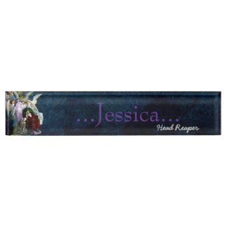 Lenore among the Angels. Name Plate