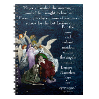 Lenore among the Angels. Notebook