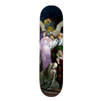 Lenore among the Angels. Skateboard