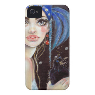 Lenore & the three eyed raven, original art iPhone 4 covers