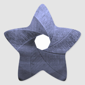 lens aperture blades star sticker