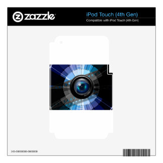 Lens iPod Touch 4G Decal