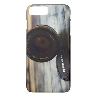 Lens of camera and cap iPhone 7 plus case