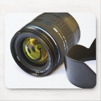 Lens & smiley mouse pad