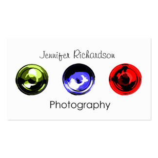 Lense In Photography Business Card