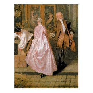L'Enseigne de Gersaint, 1720 Postcard