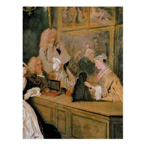 L'Enseigne de Gersaint, 1720 Postales