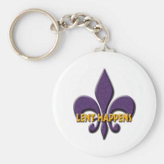 Lent Happens Keychain