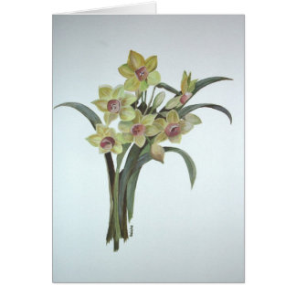 Lent Lily Card