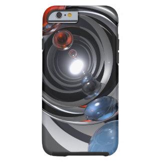 Lente de cámara abstracta funda para iPhone 6 tough