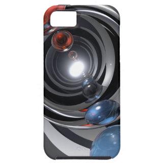 Lente de cámara abstracta iPhone 5 carcasas