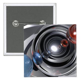 Lente de cámara abstracta pin