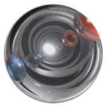 Lente de cámara abstracta platos para fiestas