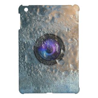 Lente de cámara congelada en caso del iPad del hie