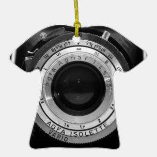 Lente de cámara del vintage ornamente de reyes