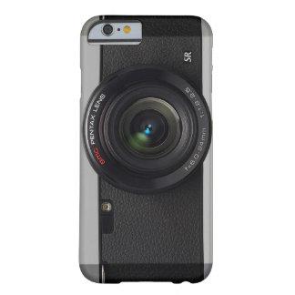 Lente de cámara del vintage funda para iPhone 6 barely there