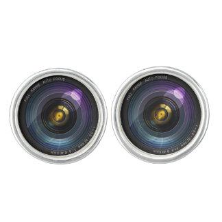 Lente de cámara gemelos