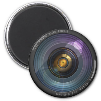 Lente de cámara ocultada secreto imán redondo 5 cm