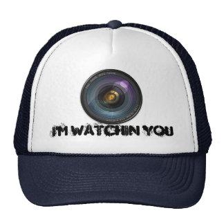 Lente de cámara secreta ocultada gorras
