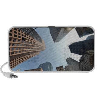 lente del Pescado-ojo del edificio, Boston, los E. Altavoces