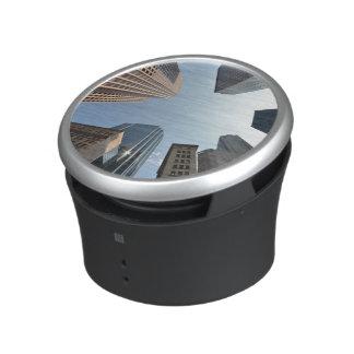lente del Pescado-ojo del edificio, Boston, los E. Altavoz Bluetooth
