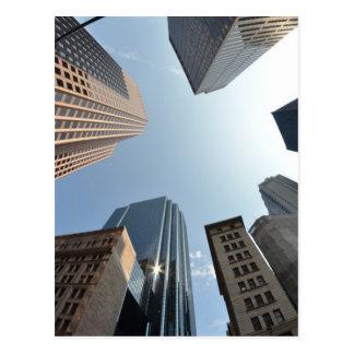 lente del Pescado-ojo del edificio, Boston, los E. Postales