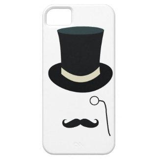 Lente del sombrero de copa funda para iPhone SE/5/5s