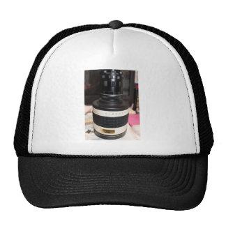 Lente del telescopio de la cámara gorras