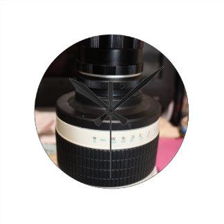 Lente del telescopio de la cámara relojes