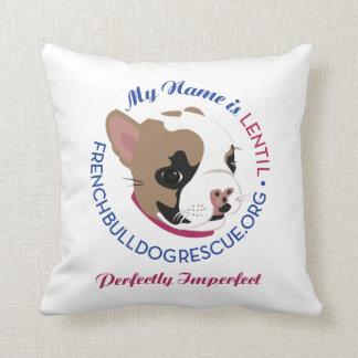 Lenteja, perfectamente imperfecta almohadas