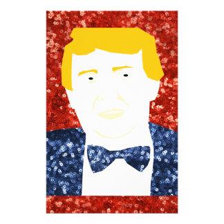 lentejuela Donald Trump Papeleria Personalizada