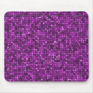 Lentejuelas púrpuras mousepad