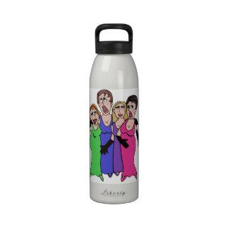 ¡Lentejuelas y una canción Botellas De Agua Reutilizables