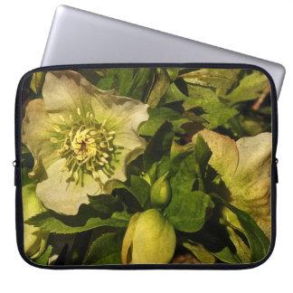 Lenten Rose Hellebore Laptop Sleeve