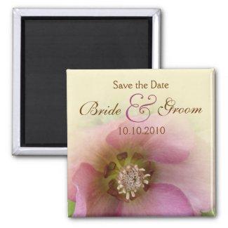 Lenten Rose Save-The-Date magnet