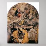 L'Enterrement du Comte d'Orgaz by El Greco Print