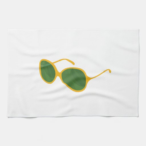 lentes anaranjadas beach.png del verde del marco d toallas de cocina