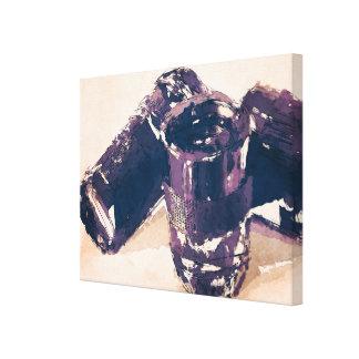 Lentes de cámara abstractas impresión en tela