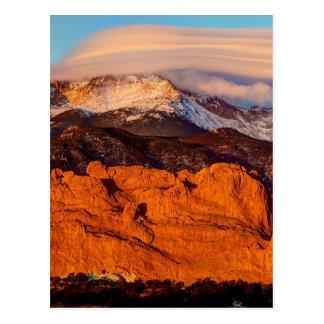 Lenticular Cloud Postcard