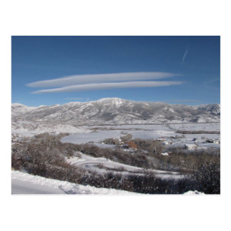 Lenticular Clouds Post Card