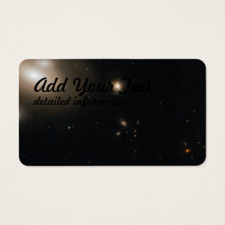 Lenticular Galaxy in the Coma Cluster with Numero Business Card