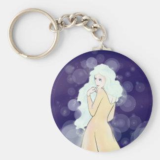 Lentie Button Keychain